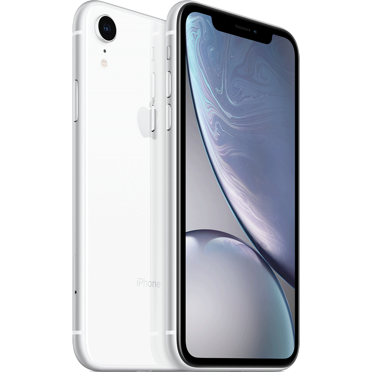 iPhone XR reconditionne blanc